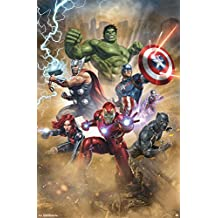 "Trends International Avengers Fantastic Wall Poster, 22.375"" x 34"""