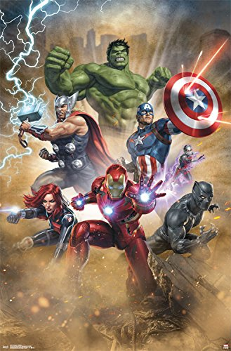 Trends International Avengers Fantastic Wall Poster, 22.375