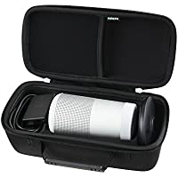 Adada Hard EVA Case for Bose SoundLink Revolve Bluetooth Speaker (Triple Black)