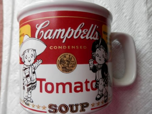 Campbell's Soup Contemporary Label Mug, 1999 Houston Harvest Condensed Soup Label