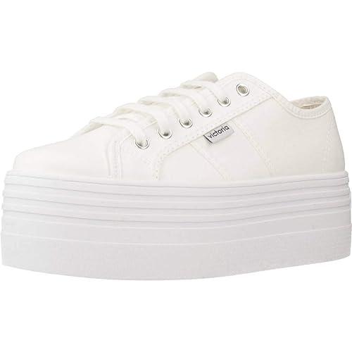 Victoria Barcelona Doble Lona Monocromo, Zapatillas Unisex Adulto: Amazon.es: Zapatos y complementos