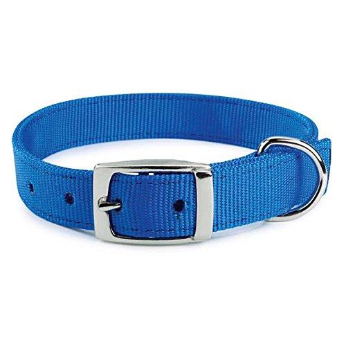 Guardian Gear 24-Inch Double-Layer Nylon Dog Collar, Blue