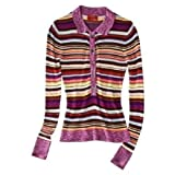 Missoni for Target Long Sleeve Polo Sweater Shirt