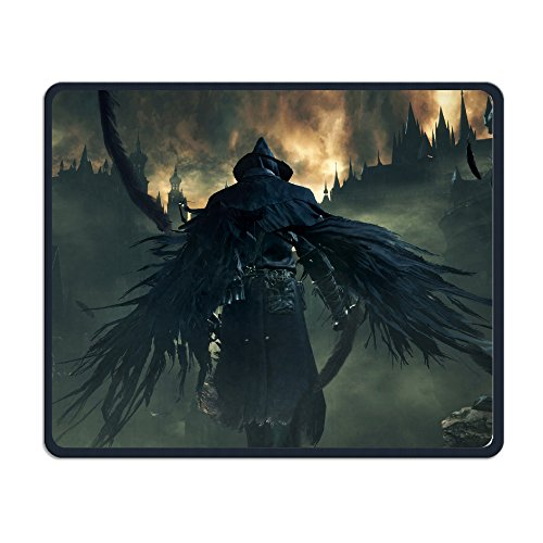 Bloodborne Gaming Gaming Mouse Pad Stitch Ed Edges