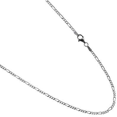 Amazon Figaro Necklace Italian 925 Sterling Silver Chain 16 18 20 22 24 30 Inches Available Jewelry