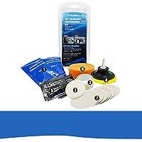 Headlight Restoration Kit, Ocamo Car Headlight Lens Restoration Kit System Professional Restorer Polishing Protection Tool Kit
