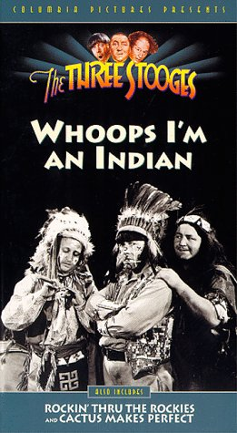 Boxers Indian (Three Stooges:Whoops I'm An Indian [VHS])