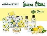 Bath & Shower Gift Set, Lemon Citrus Scent, Spa