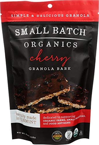 SMALL BATCH ORGANICS Organic Cherry Bark Granola, 8 OZ by Small Batch Organics (Image #2)