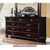 247SHOPATHOME Idf-7129D, dresser, Walnut