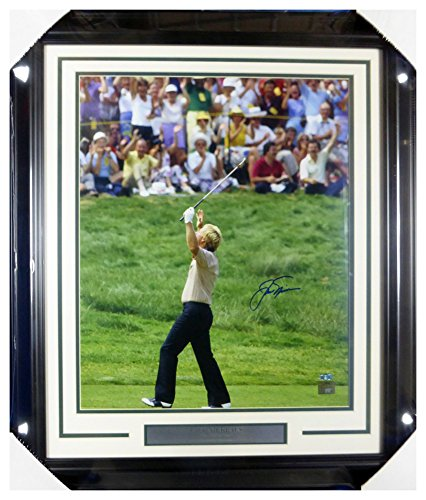 - Jack Nicklaus Autographed Signed Framed 16x20 Photo 1970 Masters - Certified Authentic