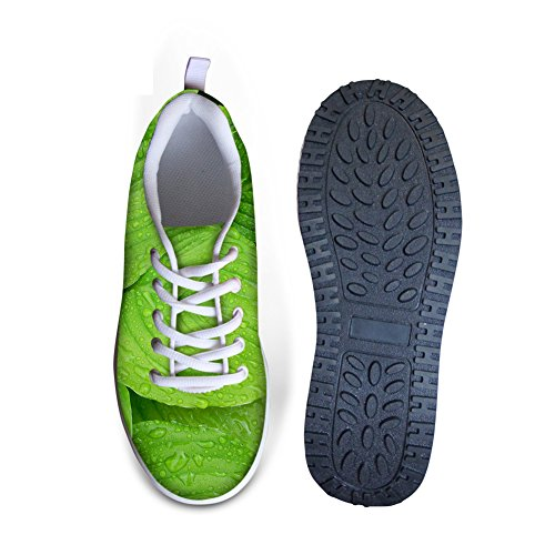 Abbracci Idea Donna Forza Fitness Camminando Sneakers Leaf1