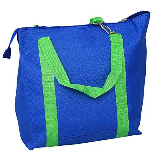 Kuber Industriestm tela elegante borsa a tracolla, borsa da picnic, borsa della spesa, borsa a mano (rosa)–KI19152