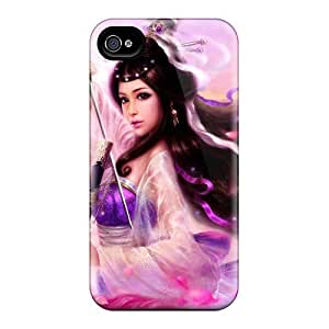 High Quality Shock Absorbing Case For Iphone 4/4s-gorgeous Warrior