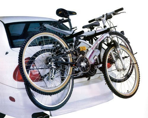 CAR CYCLE CARRIER 2 BICYCLE BIKE RACK UNIVERSAL FITTING SALOON HATCHBACK ESTATE BARGAINS-GALORE
