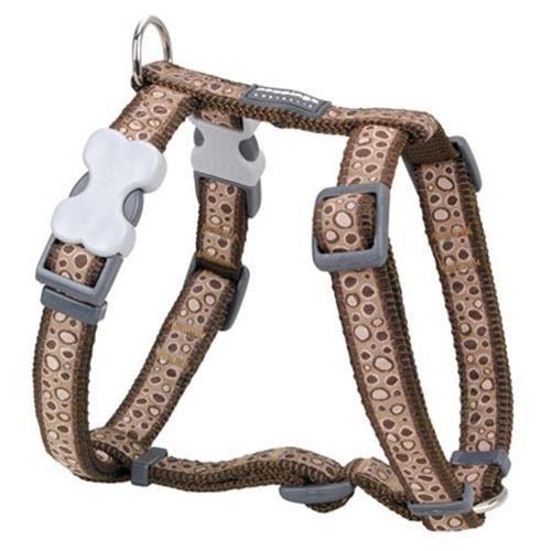 Red Dingo Bedrock Brown XS Dog Harness