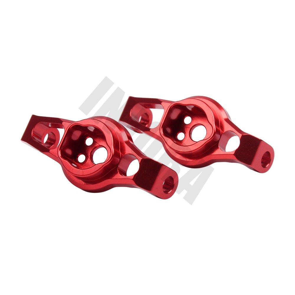 INJORA TRX4 Front Caster Blocks Portal Drive 2pcs per RC Crawler TRAXXAS TRX-4 8232 Rosso