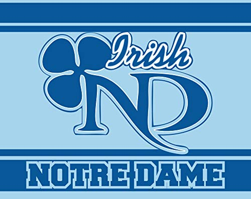 R and R Imports Notre Dame High School Irish Lawrenceville Lawrence Township New Jersey Sports Team 5x6 Inch Rectangle Rectangle Car Fridge Magnet
