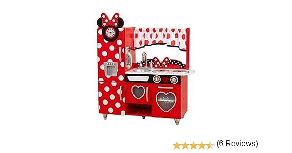 KidKraft 53371 Cocina de juguete Jr. Minnie Mouse con diseño ...