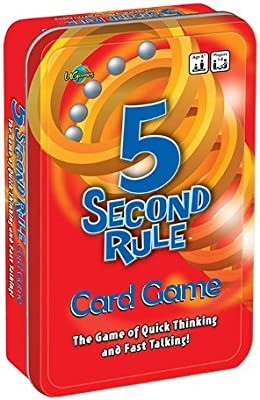 5 Second Rule Tinned Game Board Game Brand New Free Shipping AU Stock