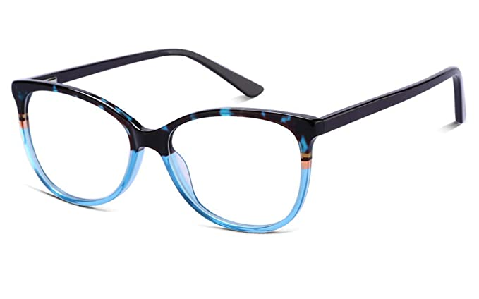 Amazon.com: Non Prescription Glasses Eyeglass Frames for Women & Men ...