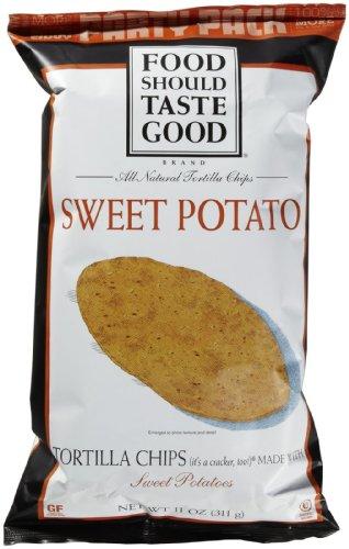 Food Should Taste Good Tortilla Chips - Sweet Potato - 11 oz