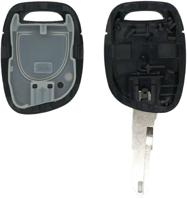 SEGADEN Replacement Key Shell fit for RENAULT Twingo Clio Kangoo Master 1 Button Keyless Entry Remote Key Case Fob PG352B