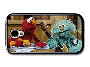 AMAF ? Accessories Elmo and Rosita Muppet Playing Together Still TV Show case for Samsung Galaxy S4