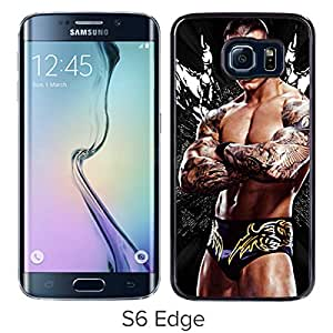 Beautiful Designed Case With Wwe Superstars Collection Wwe 2k15 Randy Orton 06 Black For Samsung Galaxy S6 Edge Phone Case