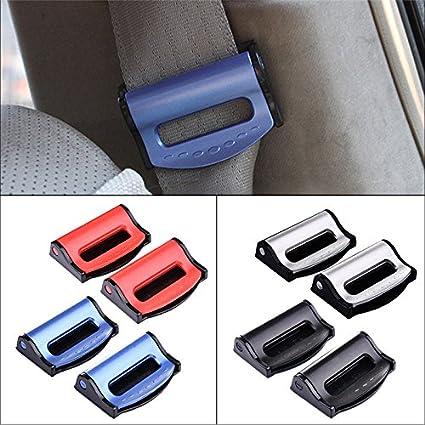 XuBa 2 St/ücke Universal Autositz G/ürtel Clips Sicherheit Einstellbar Auto Stopper Schnalle Kunststoff Clip