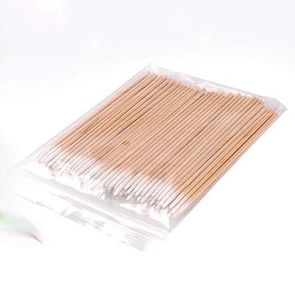 300 palos de madera,algodón orgánico biodegradable,algodón ...
