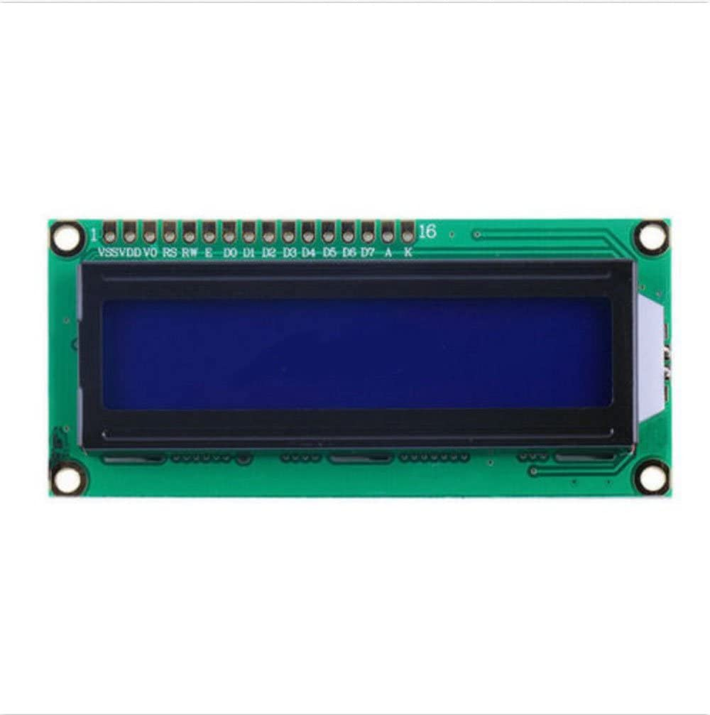 10pcs 1602 16x2 Character Lcd Display Module Hd44780 Controller Blue Arduino Lcd Amazon Com