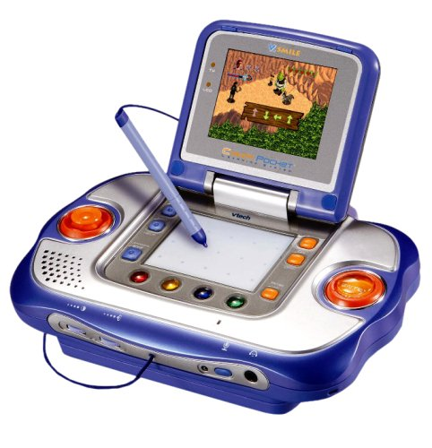 Vtech - Jeu Électronique - Vsmile Cyber Pocket + Shrek