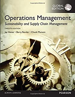 Mylab operations management with pearson etext access card operations management sustainability and supply chain management global edition fandeluxe Gallery