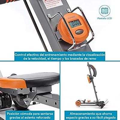 skandika Regatta Multi Gym Poseidon - máquina Remo - Plegable ...
