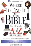 Where to Find It in the Bible, Ken Anderson, 0785245871