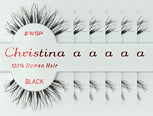 6packs Eyelashes - WSP by Christina