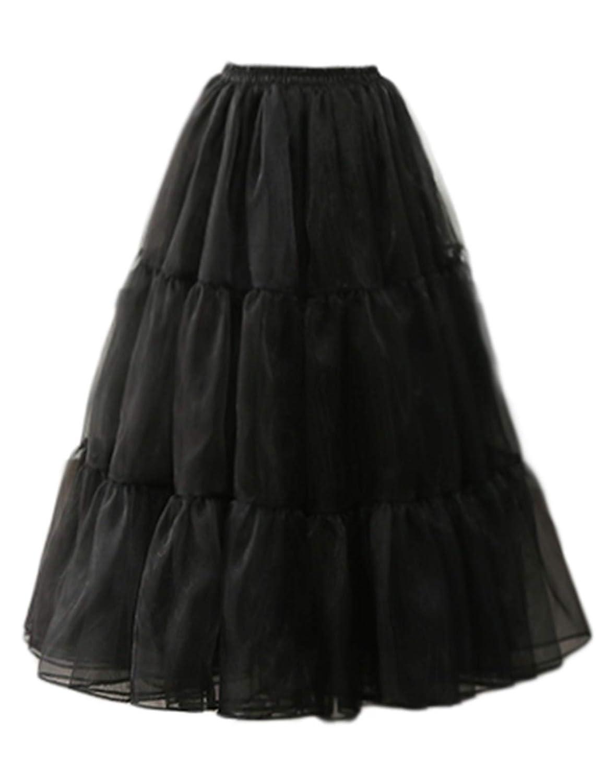 Talla 12 GRACE KARIN Estilo Vintage Faldas de tut/ú para Mujer con Malla Elegantes