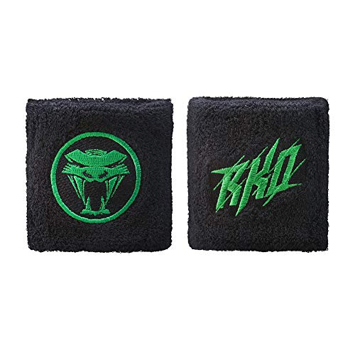 WWE Authentic Wear Randy Orton Strike Wristbands Black/Green -