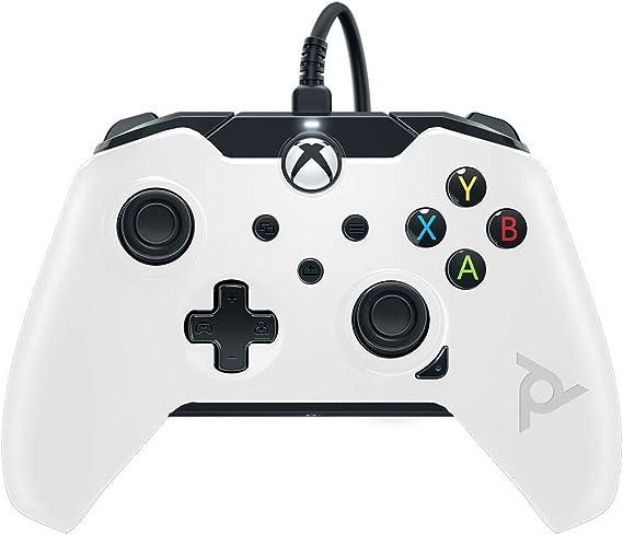 PDP - Wired Ctrl white (Xbox one/ Series X): Amazon.es: Videojuegos