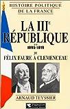 La IIIe république, 1895-1919