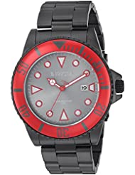 Invicta Mens Pro Diver Quartz Stainless Steel Casual Watch, Color:Black (Model: 90296)