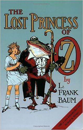 The Lost Princess Of Oz