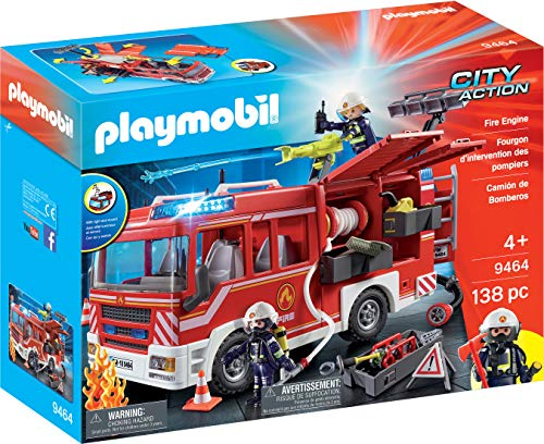 Playmobil Fire Engine (Engine Fire Playmobile)