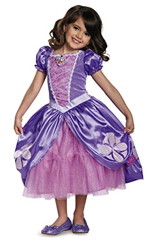Sofia The Next Chapter Deluxe Sofia The First Disney Junior Costume, Medium/7-8, One (Real Disney Princess Costumes)