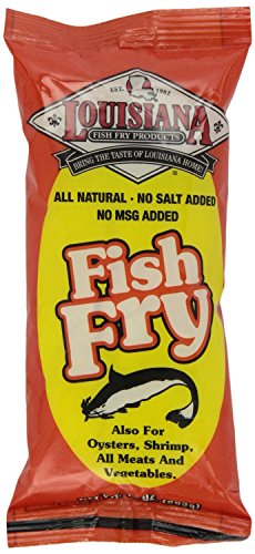 Mix Fish Fry All Natural (Pack of 12) by Louisiana