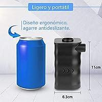Zacro 6000mAh Aire Bomba Portable Eléctrica para Inflables y ...