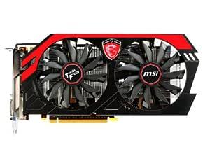 MSI 912-V287-055 - Tarjeta gráfica (2GD5/OC, GeForce GTX 660 NVIDIA, 2048 MB, GDDR5-SDRAM, 192 bit, 2 DVI HDMI, DP, 2 Ventiladores)