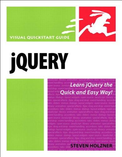 jQuery: Visual QuickStart Guide