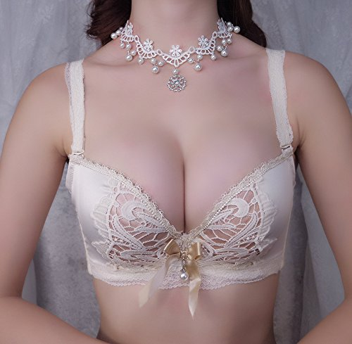 GFEI Sweet Butterfly Lace Bra Set,One size One size